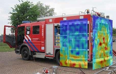 ventac firetruck acoustic camera