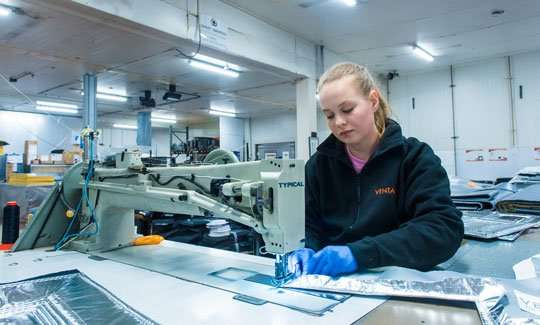 ventac employee manufacturing high quality products