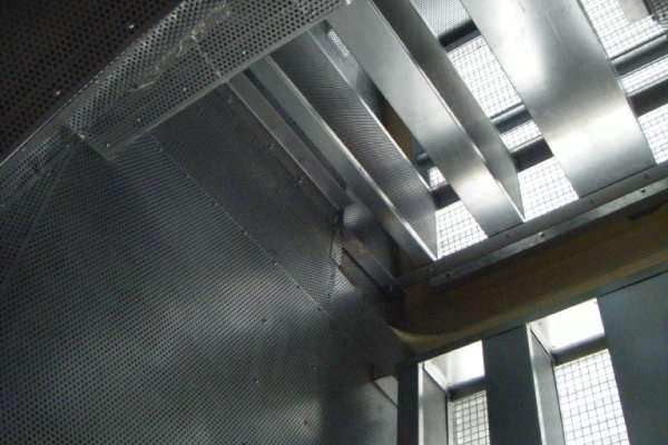 Ventac acoustic attenuator and acoustic splitter