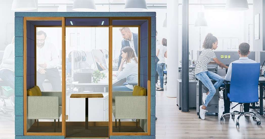 Acoustic Solution For A Noisy Office Space