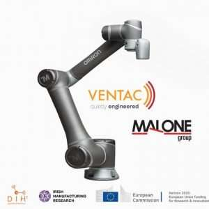 Ventac and Malone Group robotics research for agile manufacturing